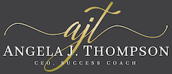 angela j thompson logo F